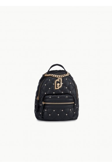 Liu.jo Backpacks Ecopelle Back pack Donna Nero Fashion