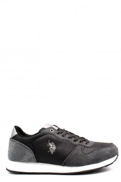 Us polo Sneakers F.gomma 40-46 sheridan club Uomo Nero Casual