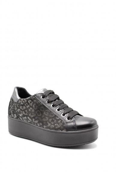 Igieco Sneakers F.gomma Dim 61632 Donna Nero Casual