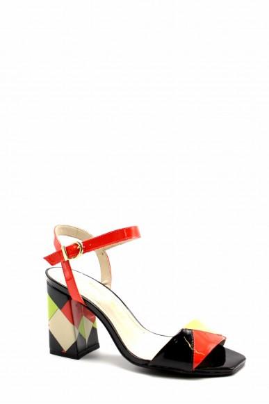 Capelli rossi Sandali F.gomma 9396-407-498 Donna Rosso Fashion