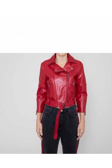 Silvian each Giacchetti   Jacket roseville Donna Rosso