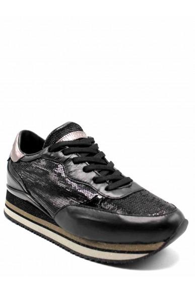 Crime london Sneakers F.gomma Donna Nero Fashion
