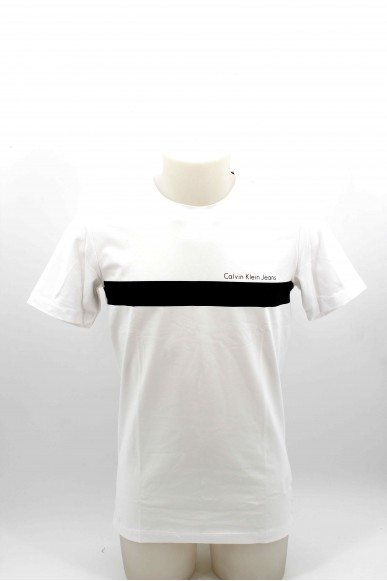 Calvin klein T-shirt T-shirt calvin klein uomo Uomo Bianco Casual