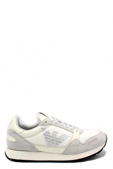 Emporio armani Sneakers   X4x215 xl198 ss18 ea Uomo Bianco Fashion