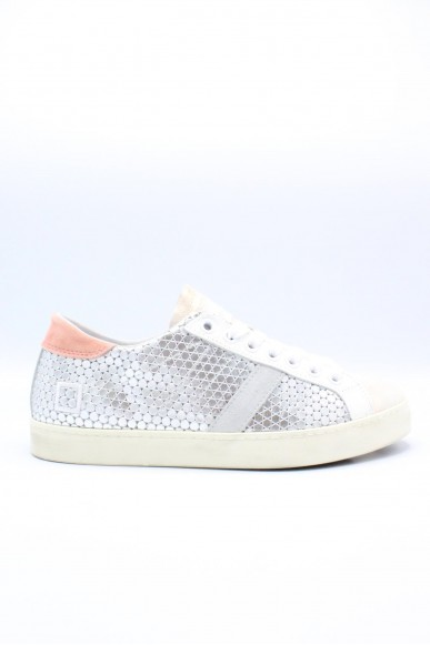 D.a.t.e.. Sneakers F.gomma 36-41 Donna Silver pink Casual