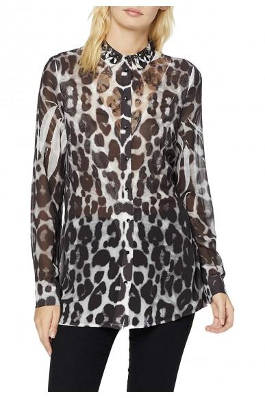Guess Camicie   Ls clouis shirt Donna Maculato Fashion