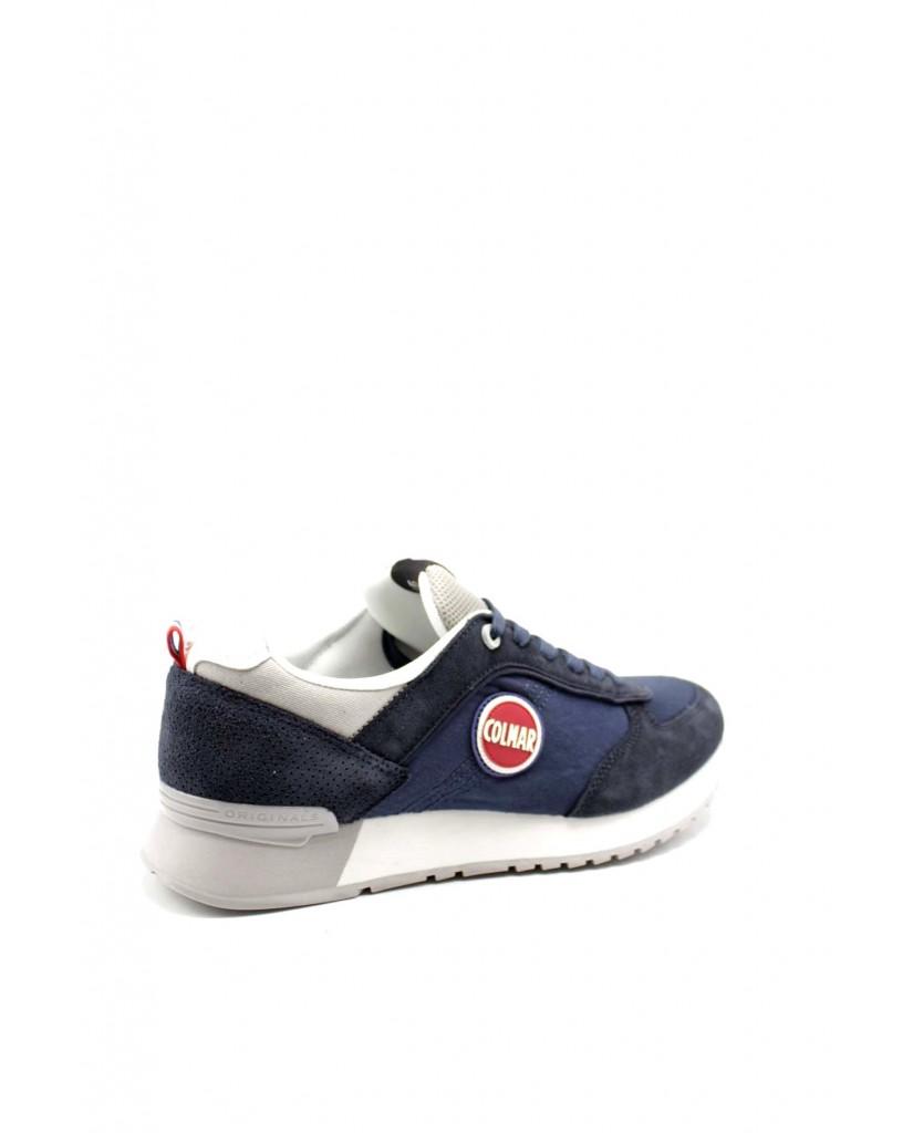 Colmar Sneakers F.gomma Travis c 017 Uomo Blu Fashion