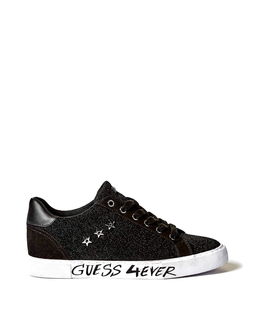 Guess Sneakers F.gomma Pressure/active lady/fabric Donna Nero Fashion