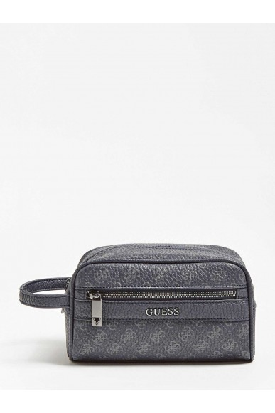 Guess Tracolle   City logo utility case Uomo Nero Fashion