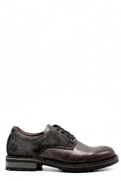 Brecos Stringate F.gomma 40-45 made in italy Uomo Grigio Fashion