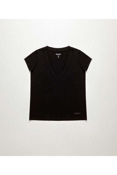 Refrigiwear T-shirt   Lily t-shirt Donna Nero Fashion