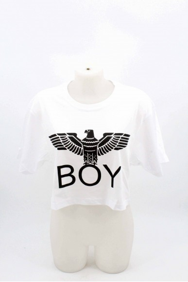 Boy london Maglie Donna Bianco Casual