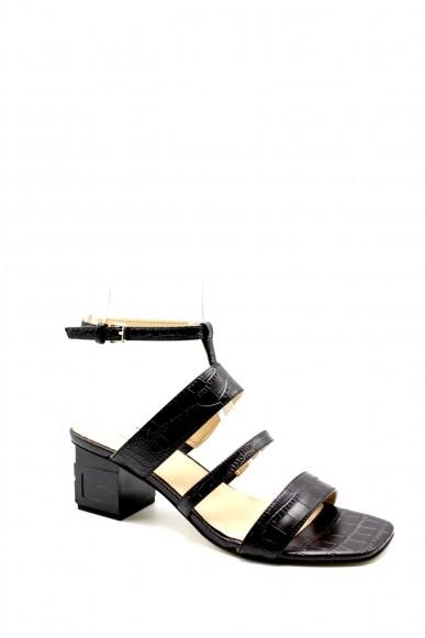 Guess Sandali F.gomma Malin2/sandalo (sandal)/leathe Donna Nero Fashion