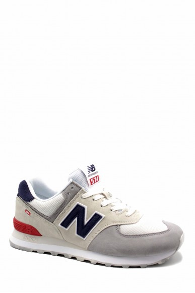 New balance Sneakers F.gomma Uomo Bianco Sportivo