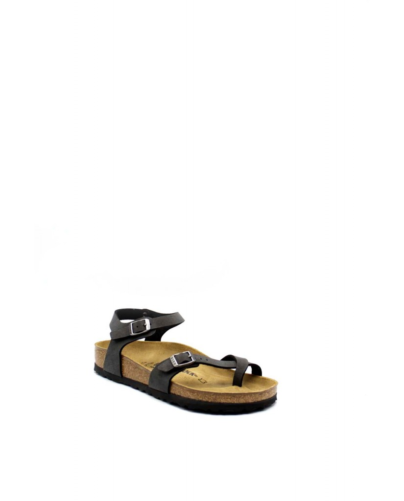 Birkenstock Sandali F.gomma Taormina bi-classic Donna Nero Fashion