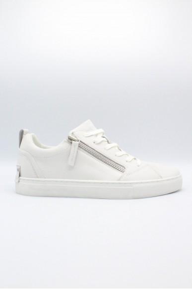 Crime Sneakers F.gomma 40/44 Uomo Bianco Fashion
