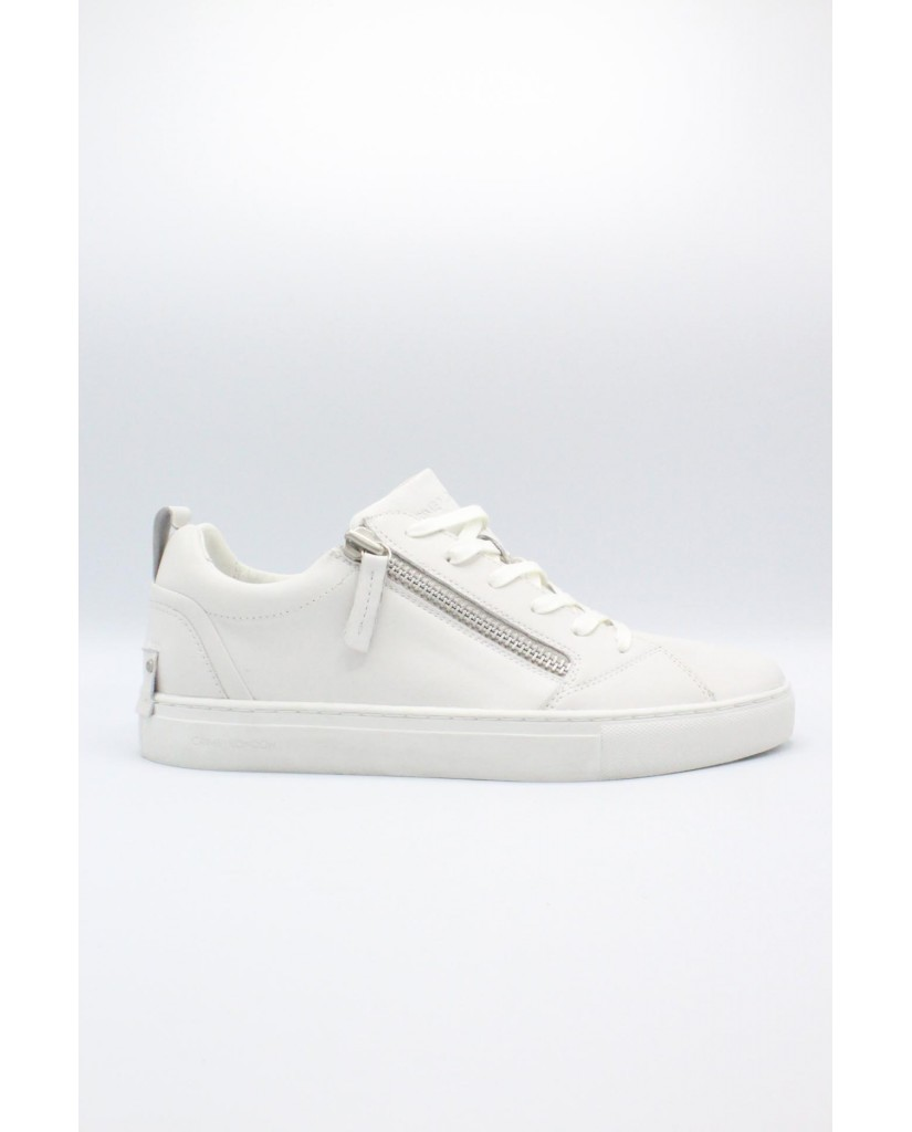 Crime london Sneakers F.gomma 40/44 Uomo Bianco Fashion