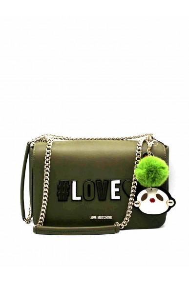 Moschino Tracolle   Borsa love Donna Verde Fashion