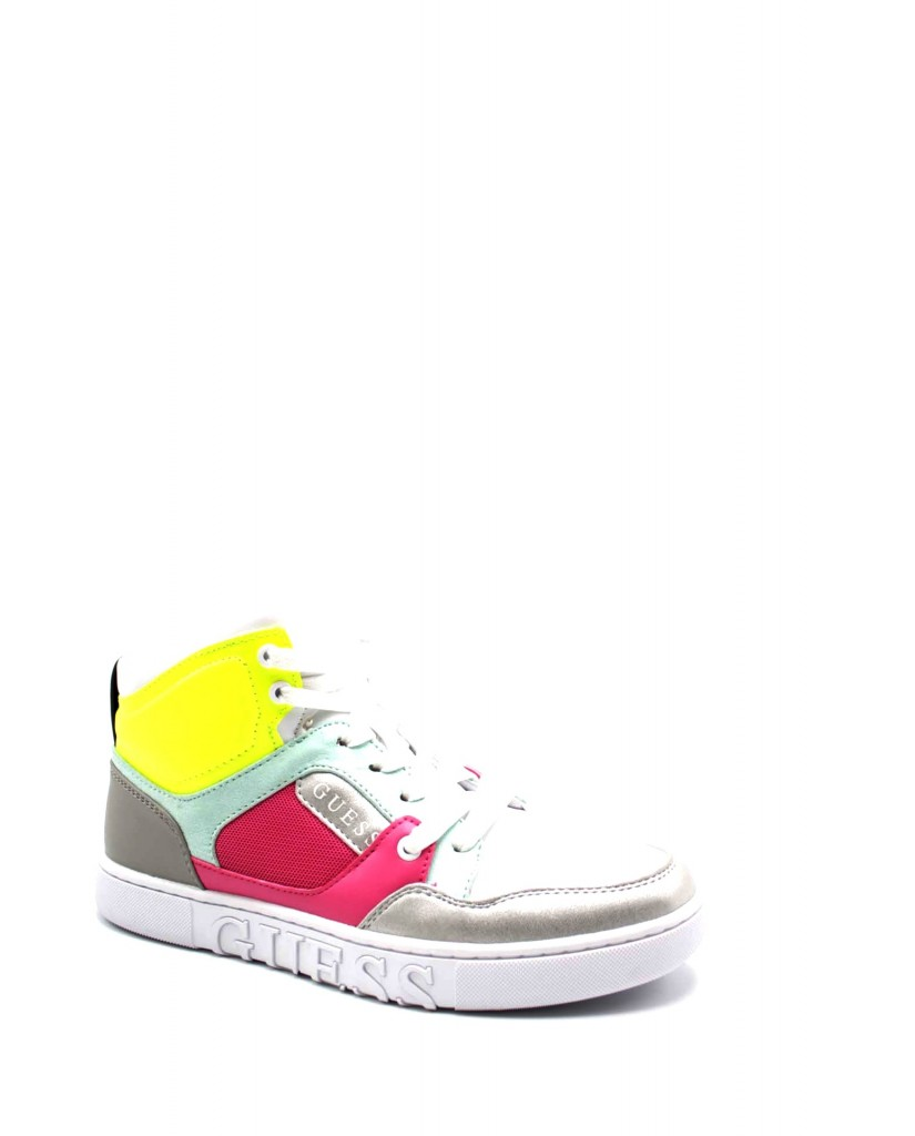 Guess Stivali F.gomma Justis/stivale (boot)/fabric Donna Rosa Fashion