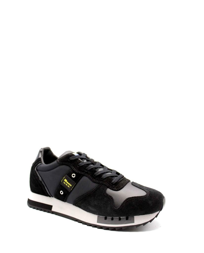 Blauer Sneakers F.gomma Queens01 Uomo Nero Fashion