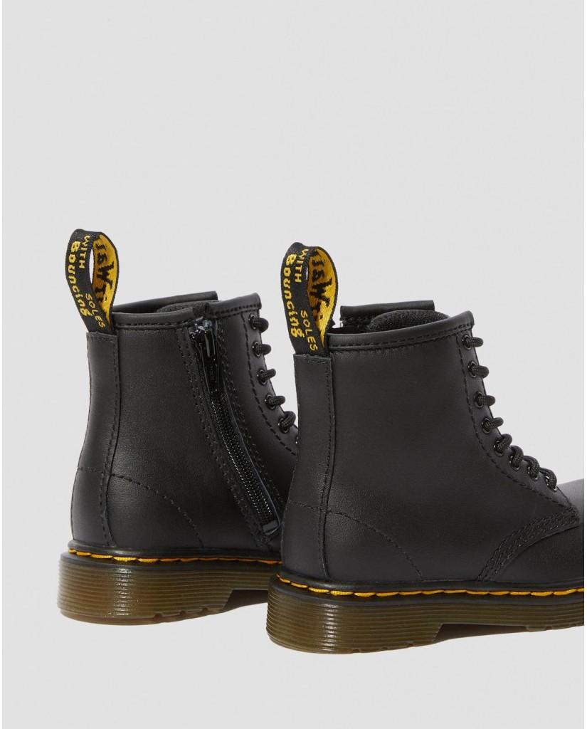Dr. martens Stivaletti F.gomma 1460 black softy Bambino Nero Fashion