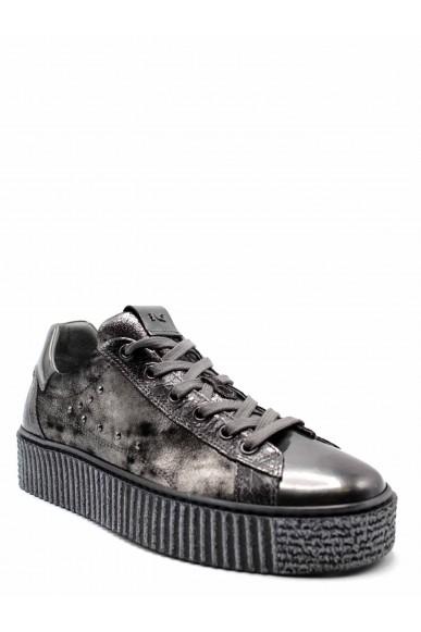 Nero giardini Sneakers F.gomma Dafne steel crack 032 grigio monet Donna Grigio Casual