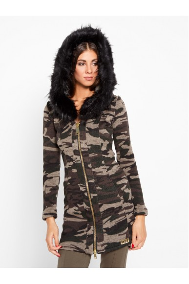 Met Giacchetti Donna Camouflage Casual