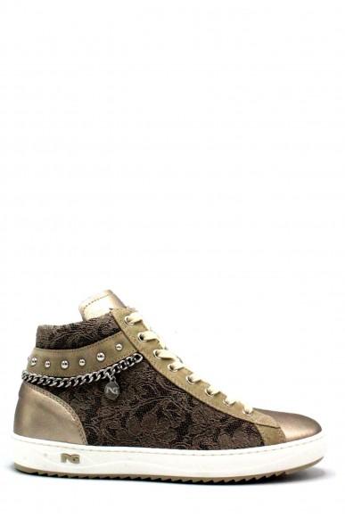 Nero giardini Sneakers F.gomma Oxigen bronzo velour sabbia t.imper Donna Bronzo Fashion