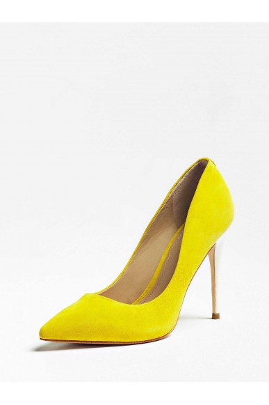Guess Decollete   Okley decollete (pump) suede Donna Giallo Fashion