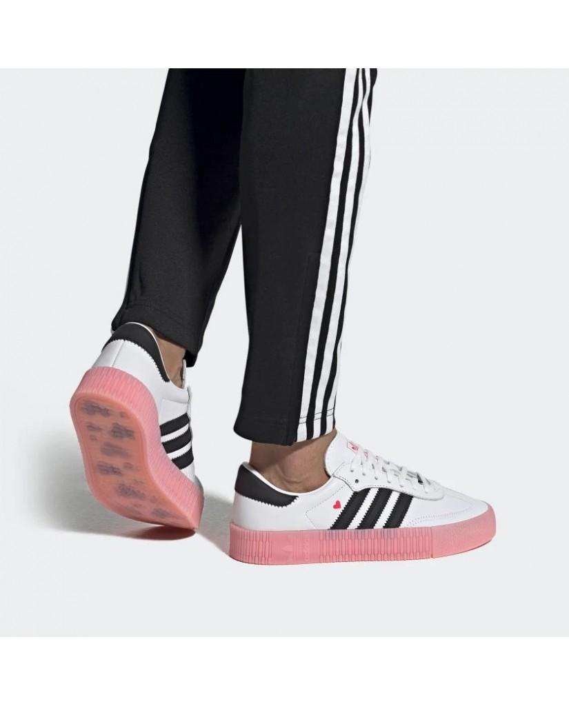 Adidas Sneakers F.gomma Sambarose w Donna Bianco Fashion