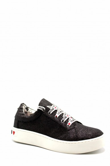 Moschino Sneakers F.gomma Ii0 Donna Nero Fashion