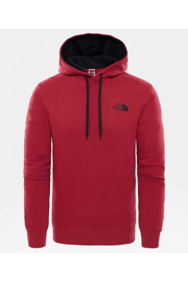 The north face Felpe   M seas drew peak hd Uomo Rosso Casual