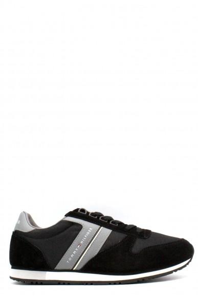 Tommy hilfiger Sneakers   40-45 sm maxwell 18c Uomo Nero-grigio Casual