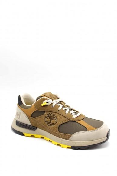 Timberland Sneakers F.gomma Field trekker low fabric/leather Uomo Beige Fashion