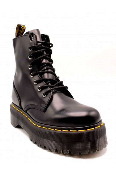 Dr. martens Stivaletti F.gomma Jadon black polished smooth Donna Nero Fashion
