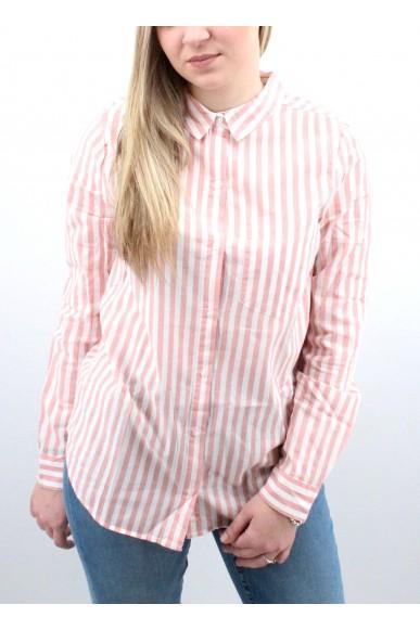 Ichi Camicie Donna Rosa Casual