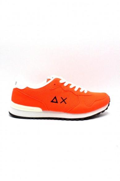 Sun68 Sneakers F.gomma 40/45 Uomo Arancione Sportivo