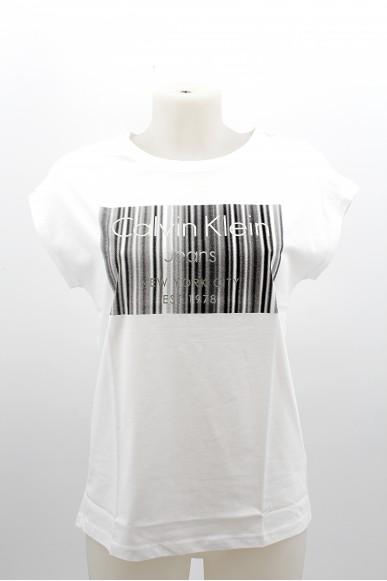 Calvin klein T-shirt Donna Bianco Casual