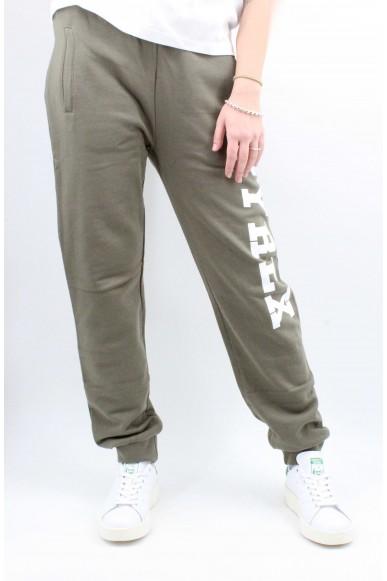 Pyrex Pantaloni   Pantalone unisex in felpa Unisex Verde militare Fashion