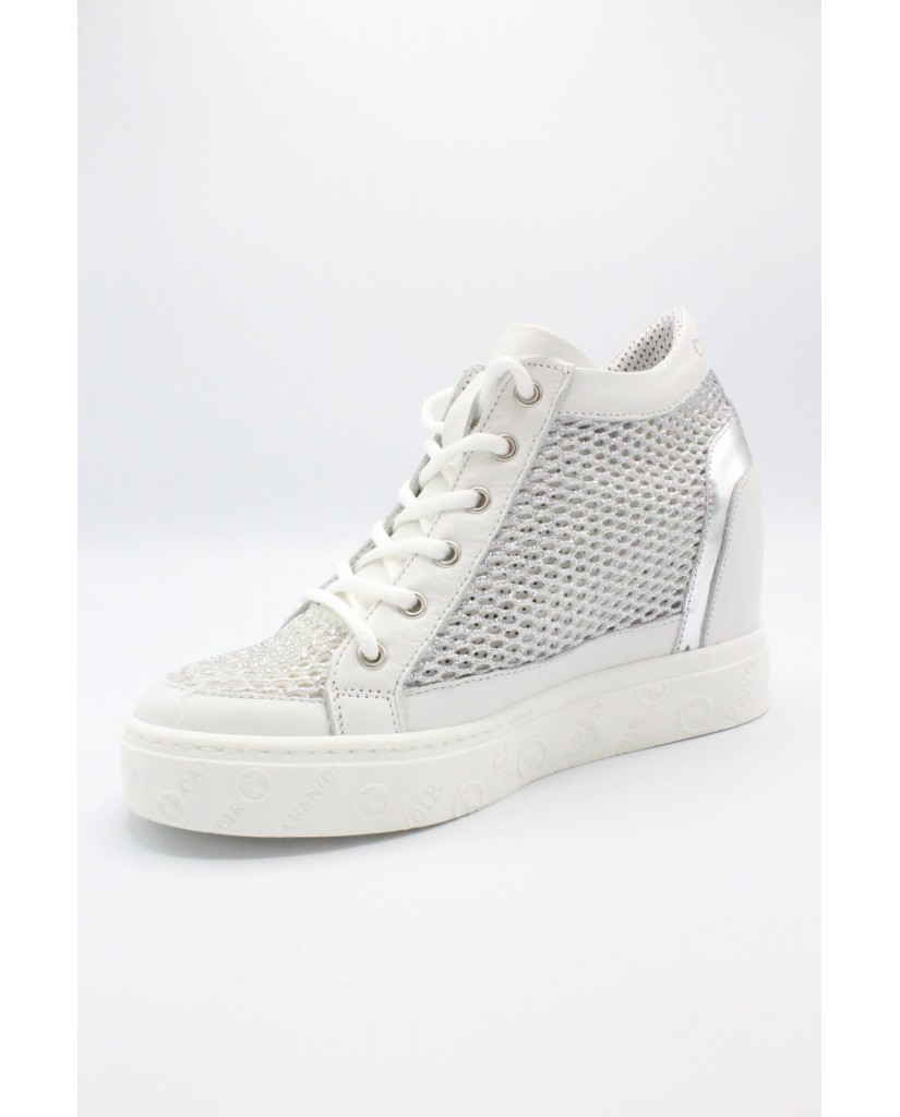 Cafe' noir Sneakers F.gomma 35/41 Donna Argento Fashion