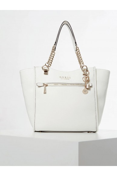 Guess Borse   Lias elite carryall Donna Bianco Fashion