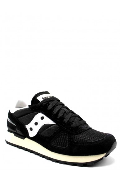 Saucony Sneakers F.gomma Shadow vintage Uomo Nero Casual