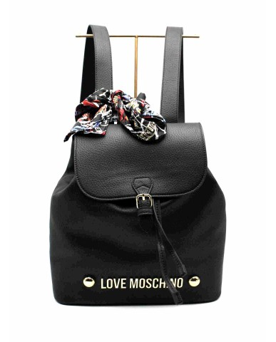 Moschino Backpacks   Zainetto bonded Donna Nero Fashion