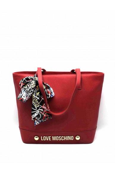 Moschino Borse   Shopper bonded pu rosso Donna Rosso Fashion
