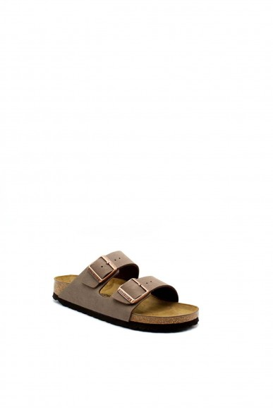 Birkenstock Sandali F.gomma Arizona bi-classic Donna Marrone Fashion