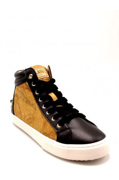 1^classe  Sneakers F.gomma Donna Nero Fashion