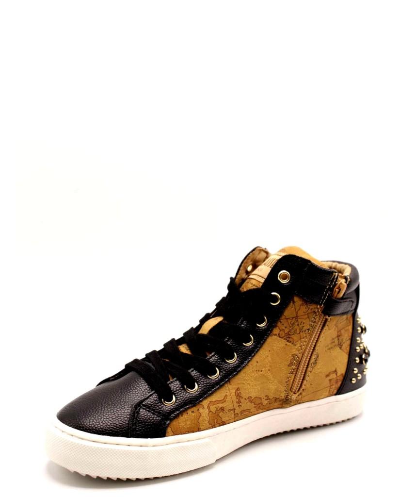 1^classe  Sneakers F.gomma Donna Nero Fashion