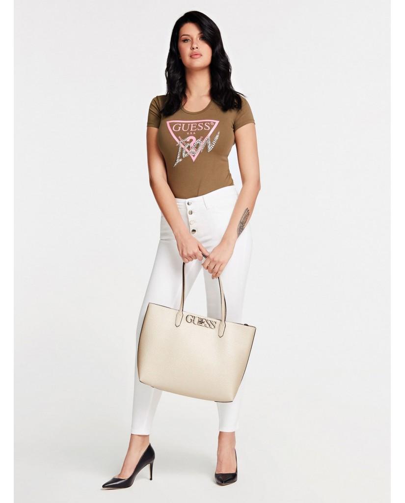 Guess Borse   Uptown chic barcelona tote Donna Oro Fashion