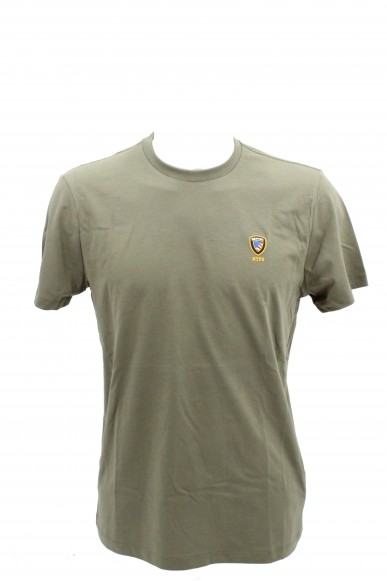 Blauer T-shirt   T-shirt manica corta Uomo Verde Fashion