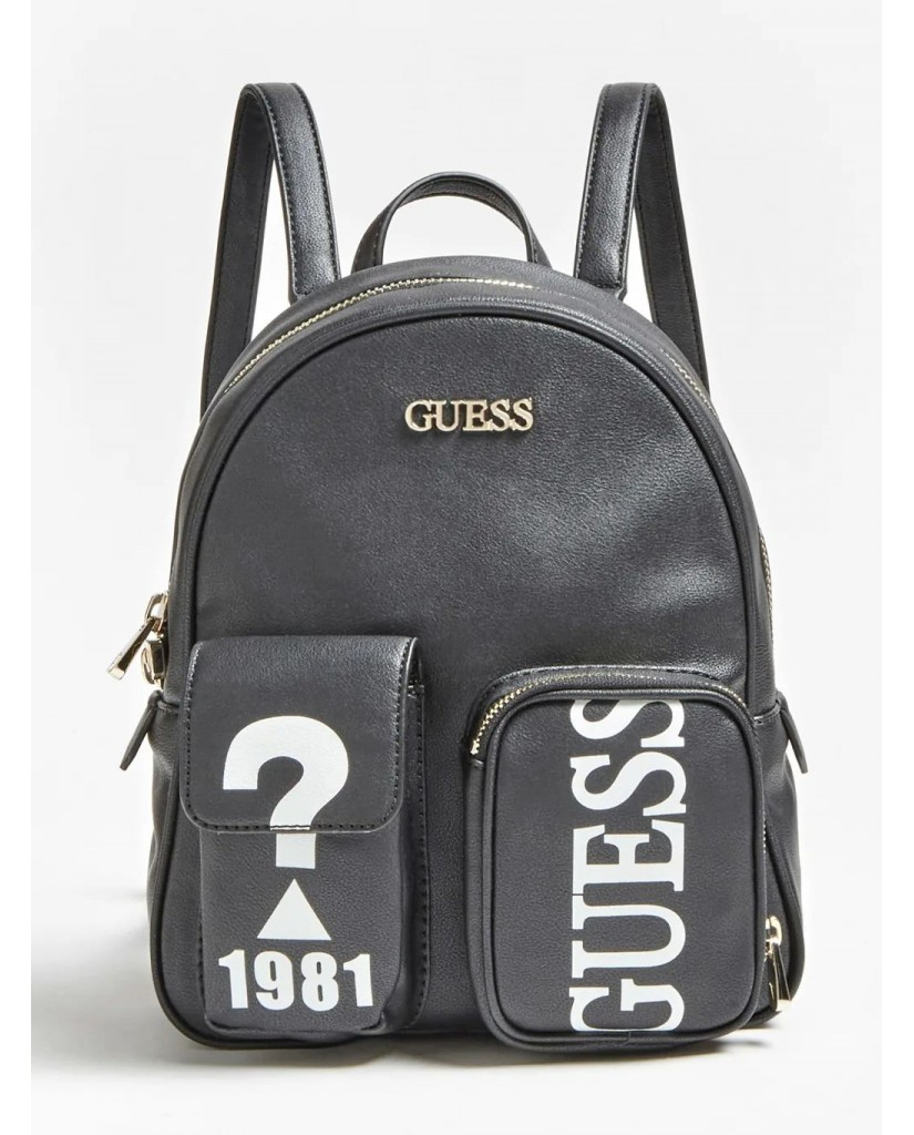 Guess Backpacks   Utility vibe backpack Donna Nero Fashion